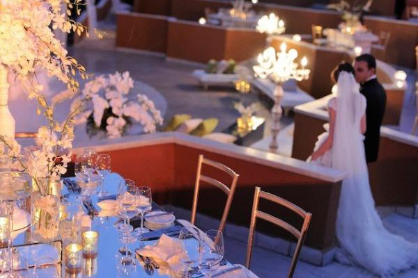 Marriott Hotel - Almaz Outdoor Wedding Reception
