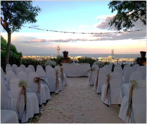 Tipuanas Ceremony Venue at Miramar Hotel