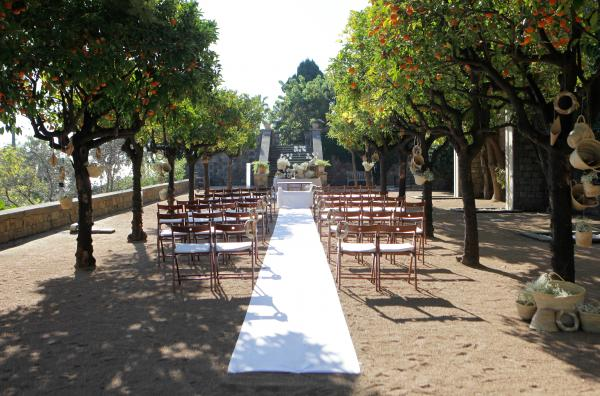 Orange Tree Ceremony at Miramar