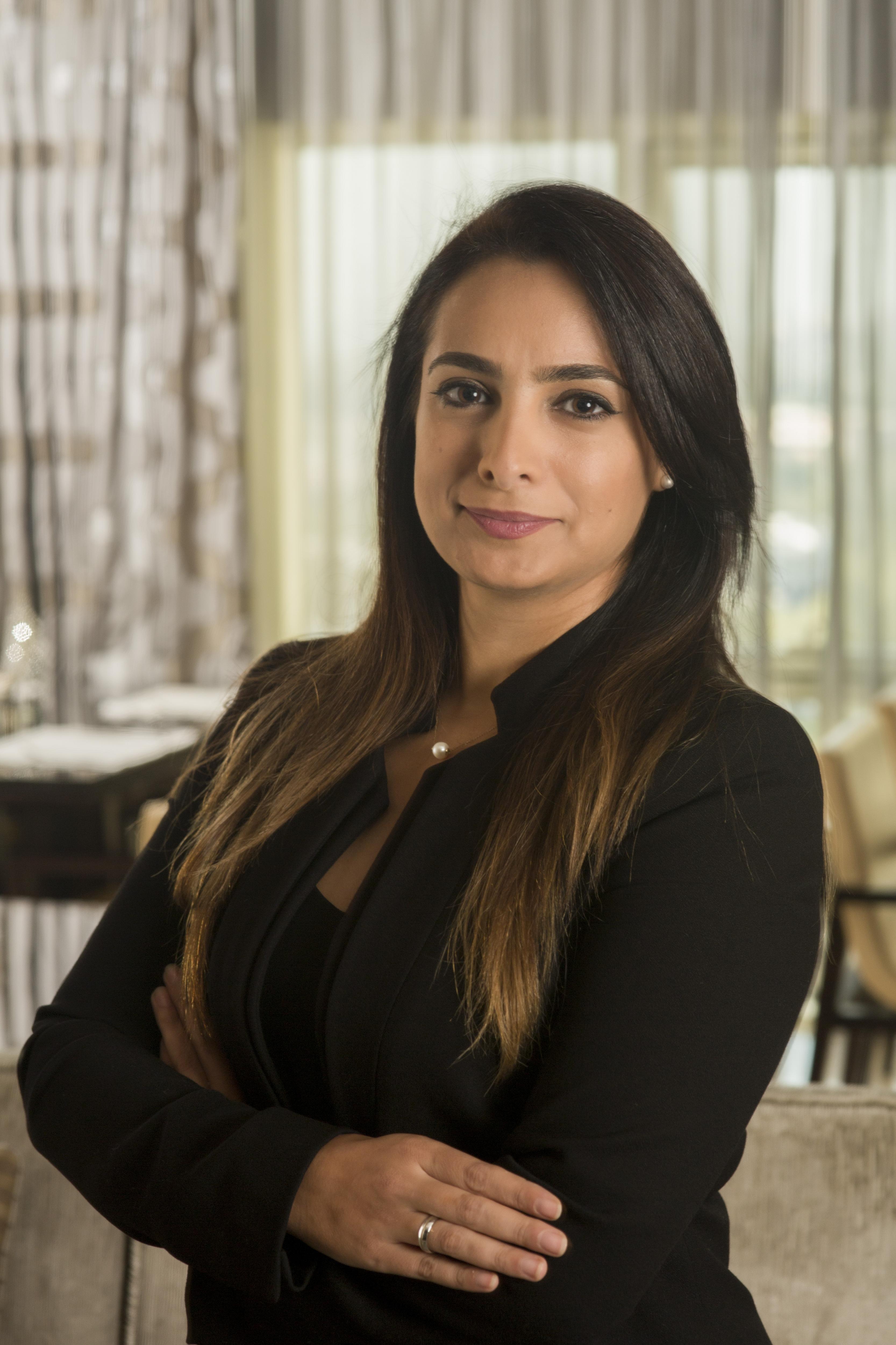 Lina Muwafak at Le Meridien Dubai