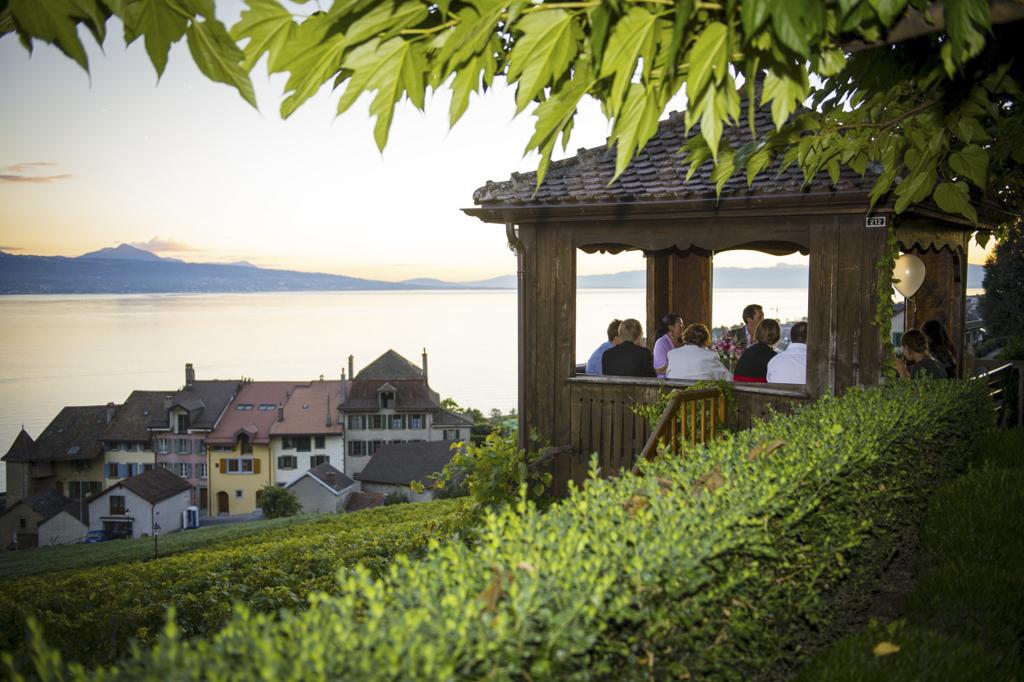 Wedding venues in Lake Geneva - Terraces overlooking the vineyards in Lavaux