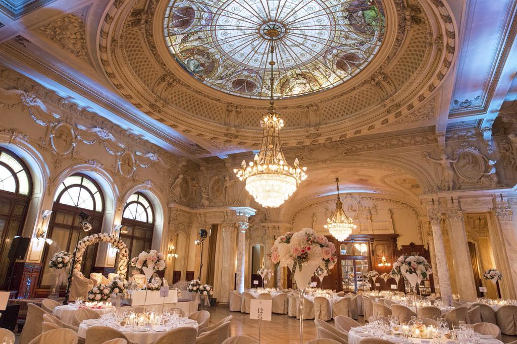 Wedding Venue in Lake Geneva - Beau-Rivage Palace Ballroom