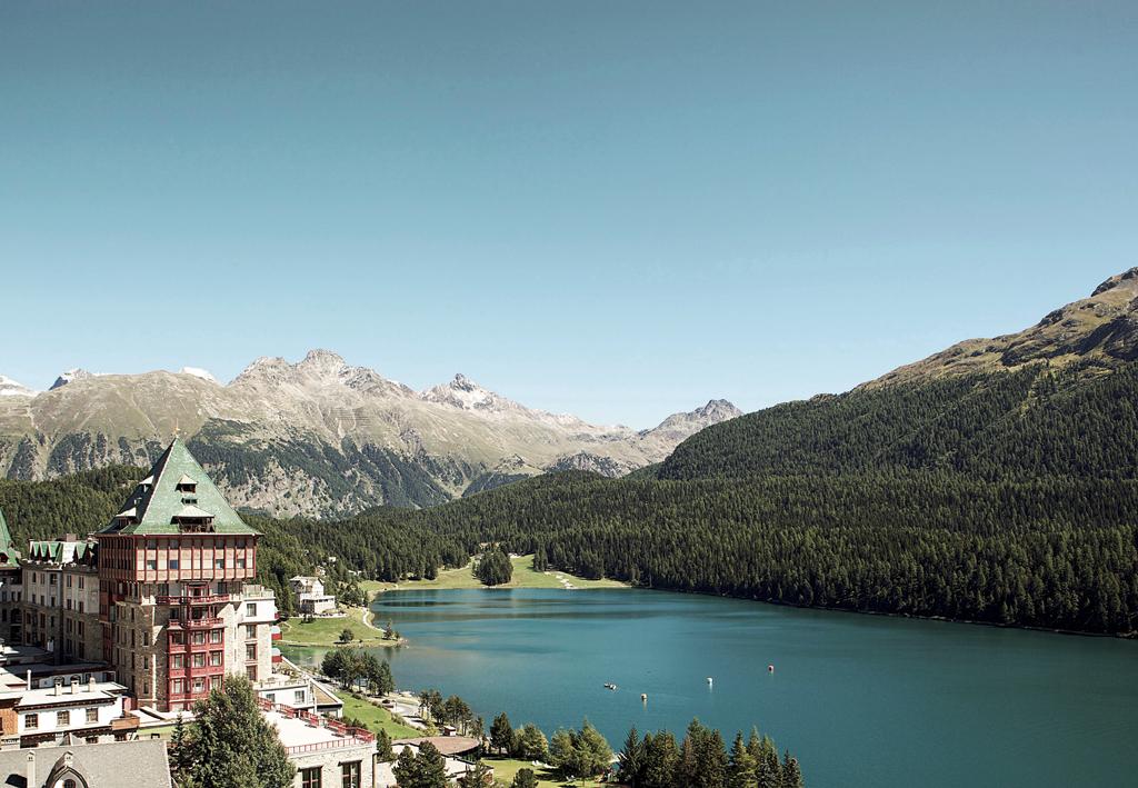 The legendary Badrutt's Palace Hotel