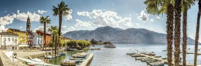 Ticino Region in Switzerland