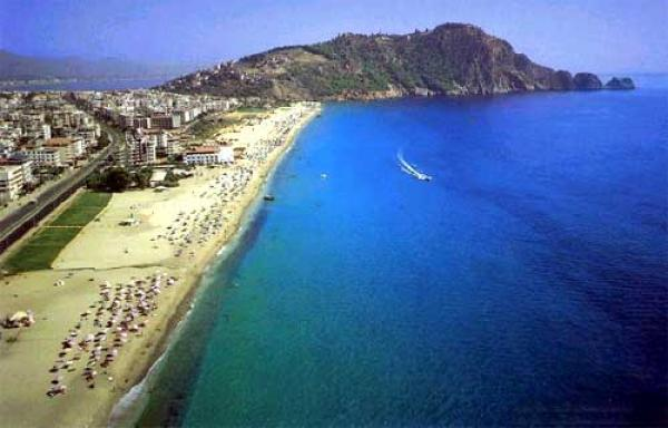 Alanya Beach in Turkey