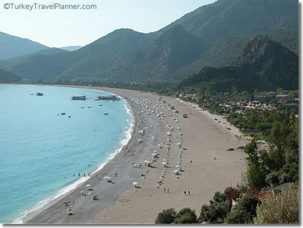 Fethiye beach in Turkey