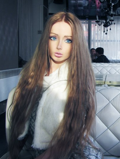 Valeria Lukyanova real life Barbie Before and After Plastic Surgery (Images)