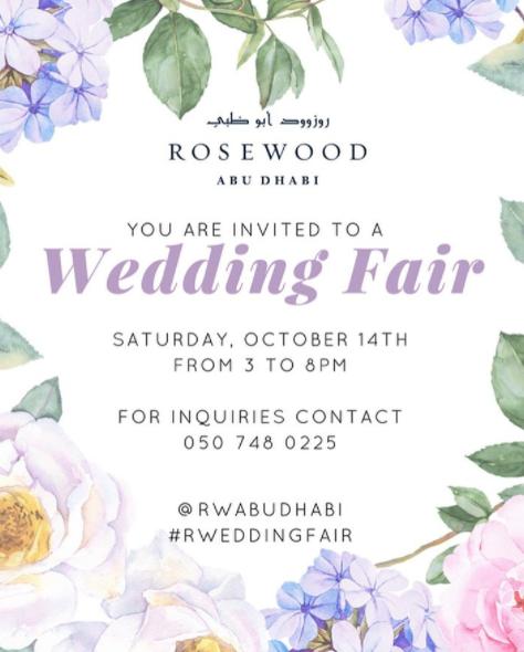 Wedding Entrance Songs 2017: Rosewood Wedding Fair