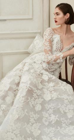 The 2019 Fall Wedding Dresses by Oscar de la Renta