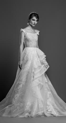 مجموعة فساتين زفاف جورج حبيقة لربيع وصيف 2019