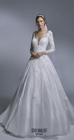 2020 Spring Wedding Dresses by Gemy Maalouf