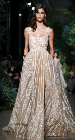 Paris Haute Couture Fashion Week: Elie Saab Spring/Summer 2015 Collection