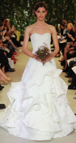 Carolina Herrera's Bridal Collection for Spring 2016 at The New York Bridal Market 2015