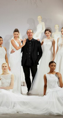 Tony Ward's 2016 Bridal Collection Featured at NY Bridal Week 2015