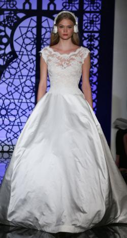 Reem Acra's Bridal Collection for Fall 2016 at New York Bridal Week