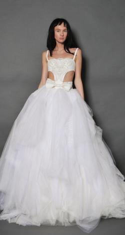 Vera Wang's Fall 2016 Bridal Collection at New York Bridal Week