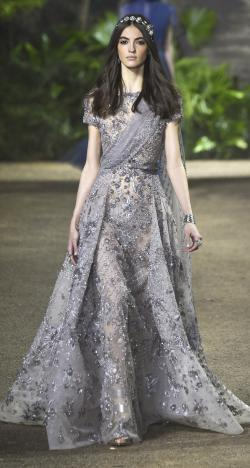Elie Saab's Spring 2016 Haute Couture Collection at Paris Fashion Week