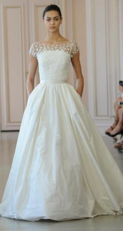 The 2016 Bridal Collection of Oscar de la Renta