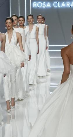 Rosa Clara's 2017 Bridal Collection at Barcelona Bridal Week