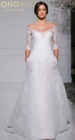 Pronovias 2017 Fall Bridal Collection at New York International Bridal Week