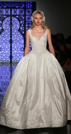 Reem Acra's Fall 2017 Bridal Collection at New York International Bridal Week