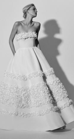 The 2018 Spring Bridal Collection by Carolina Herrera
