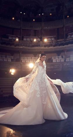 A Beautiful Wedding Dress Collection For Fall 2018 by Elie Saab