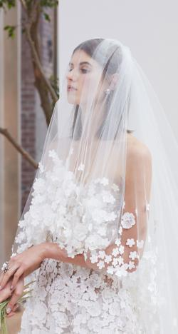 The Beautiful 2018 Spring Wedding Dresses by Oscar de La Renta