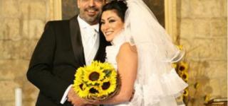 مايا نصري توجه رسالة حب إلى زوجها بعيد زواجهم