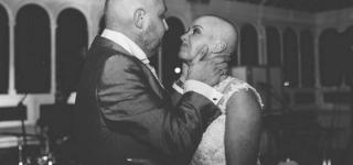 Bride Shaves Her Head During Wedding