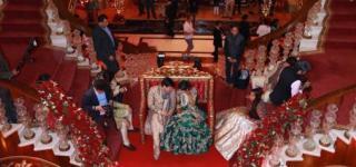 عائلة هندية تقيم أغلى حفل زفاف في مدينة أنطاليا التركية