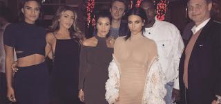 Kim and Kourtney Kardashian Attend Friend's Wedding