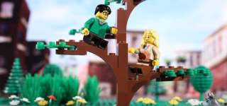 Couple Tells Their Love Story Through Legos