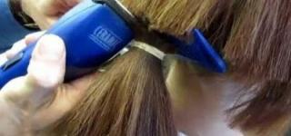 مغربي يعاقب زوجته بحلق شعر رأسها كاملاً!