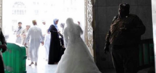 Bride Banned From Entering Grand Mosque