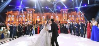Luxury Wedding For The Son Of Former Lebanese Minister Ghazi Aridi