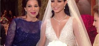 حفل زفاف ملكي لملكة جمال أمريكا ريما الفقيه بحضور عدد من المشاهير