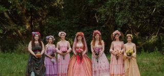 Inside a Magical DIY Woodland Wedding