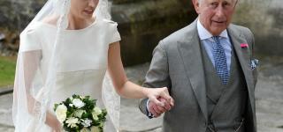 Queen Elizabeth Attends Wedding of Alexandra Knatchbul