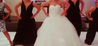 Video: Bride Wows Guests with Beyonce Dance