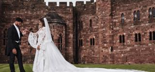 Peter Dundas Shares Behind The Scenes Pictures of Ciara's Wedding Dress