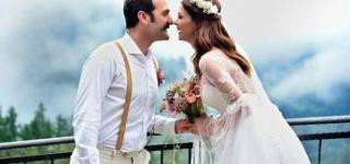 بالصور: حفل زفاف نجمة مسلسل العشق الممنوع