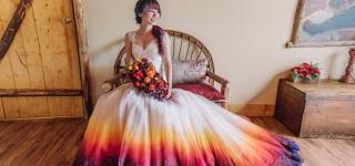 Airbrushed Wedding Dress Goes Viral