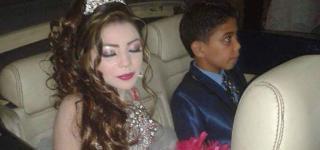 خطوبة طفلين مصريين تشعل مواقع التواصل الإجتماعي