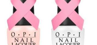 OPI Raises Awareness for Breast Cancer