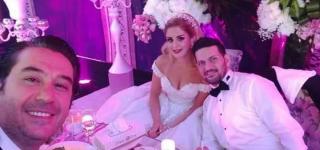 باسم ياخور وميلاد يوسف يحضران حفل زفاف مخرج سوري
