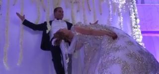 بالفيديو: ساحر تونسي يطير بزوجته في حفل الزفاف