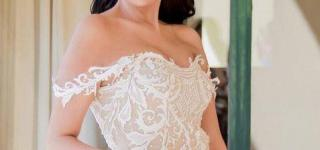 Ghada Abd-Alraziq Stuns in Wedding Dress by Hany El Behairy