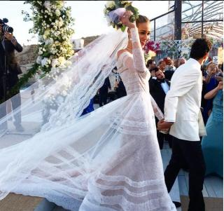 beatriz barros marries karim chiaty wedding photos
