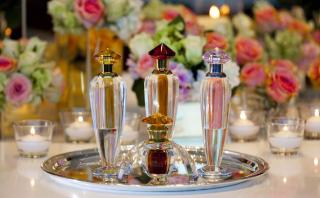 Rosewood Abu Dhabi Perfume Table